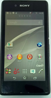 Sony Xperia E3 D2243 4gb Preto Original Semi Novo