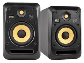 Krk V6s4 Monitor De Referência V6 S4 Estúdio 110v / Par