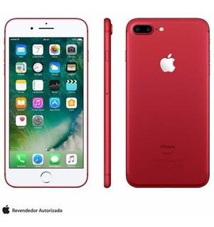 iPhone 7 Plus Vermelho/red, Com Tela De 5,5, 4g, 256 Gb