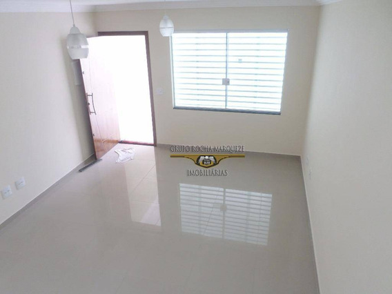 Sobrado Com 3 Dormitórios À Venda, 98 M² Por R$ 390.000,00 - Jardim Imperador (zona Leste) - São Paulo/sp - So0908