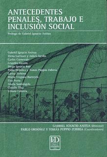 Antecedentes Penales, Trabajo E Inclusión Social.