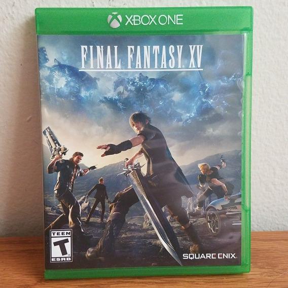 Final Fantasy Xv - Xbox One Lacrado Mid Física