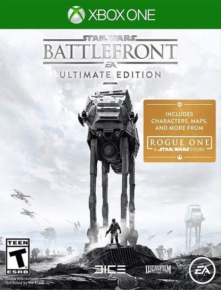 Star Wars Battlefront Xbox One Ultimate Original (25 Díg.)