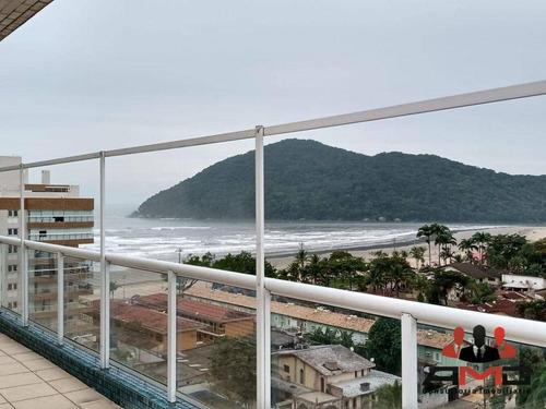 Imagem 1 de 30 de Cobertura Com 3 Dormitórios À Venda, 200 M² Por R$ 1.600.000,00 - Centro - Bertioga/sp - Co0321