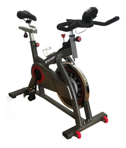 Imagen 1 de 3 de Bicicleta fija Ranbak RAN 107 para spinning gris y negra