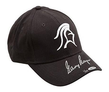 Sombrero De Caballero Negro Autografiado De Gary Player - Cu