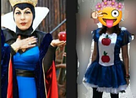Disfraz Tipo Reina Malvada Modificado