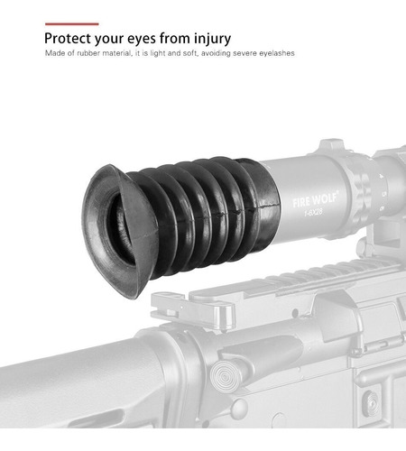 Protetor Olho Luneta Flexível 39mm (universal) Acessórios