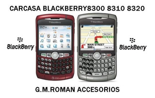 Carcasa Blackberry 8300 8310 8320 Original Completa