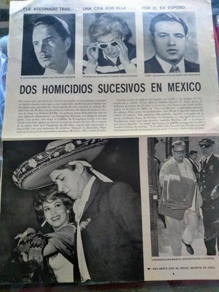 Evangelina Elizondo, Ramón Gay, Agustín De Anda,
