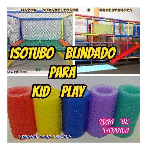 Imagem 1 de 10 de Brinquedão Isotubo Blindado Direto  Da Fabrica Kit C/20mts.