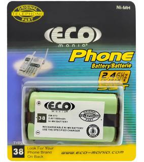 Bateria Para Telefone Panasonic 2.4v 1500ma Eco Mania