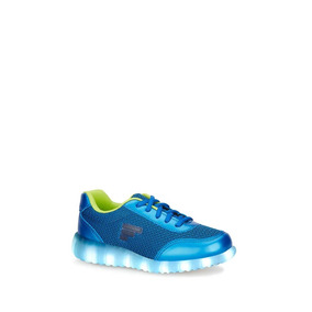 Look Urban Tenis Kids Peques Boys Luces Neon City On 2613468