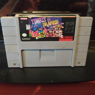 Tetris & Dr. Mario - Snes Super Nintendo