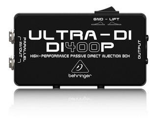 Caja Directa Pasiva Behringer Ultra Di Di400p Di400