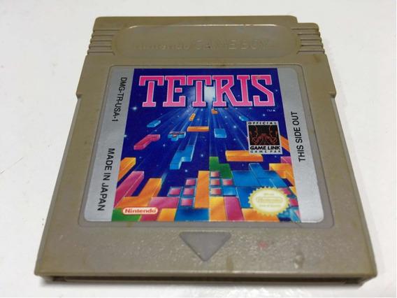 Cartucho Tetris Nintendo Game Boy Original Americano
