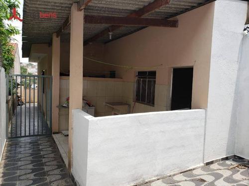 Casa Com 1 Dormitório Para Alugar, 160 M² Por R$ 700,00/mês - Jardim Dos Eucaliptos - Caieiras/sp - Ca0732
