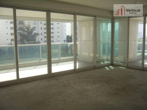 Apartamento Com 4 Dormitórios À Venda, 244 M² Por R$ 2.800.000,00 - Jardim Anália Franco - São Paulo/sp - Ap2602