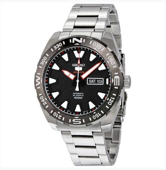 Relógio Seiko Masculino 5 Sports Automático Original Srp743b1 P1sx