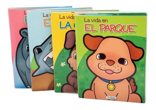 Set De 4 Libros Interactivos Pop Up / La Vida En...
