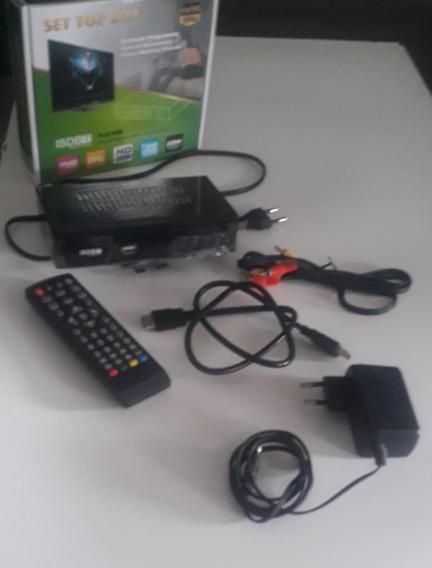 Conversor Digital Tv Set Top Box Receptor Tv Digital