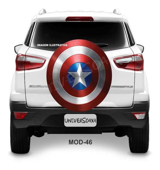 Capa Estepe Spin Activ Chevrolet Capitão América Escudo M-46