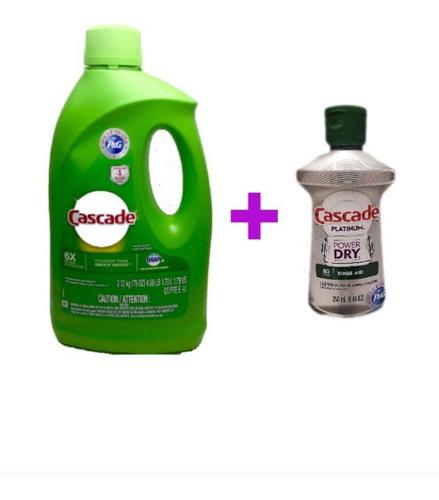 Cascade Detergente Gel Y Abrillan - Unidad a $34950