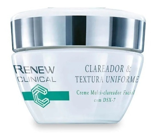 Renew Clinical Clareador Textura Uniforme Creme Facial Dsx-7