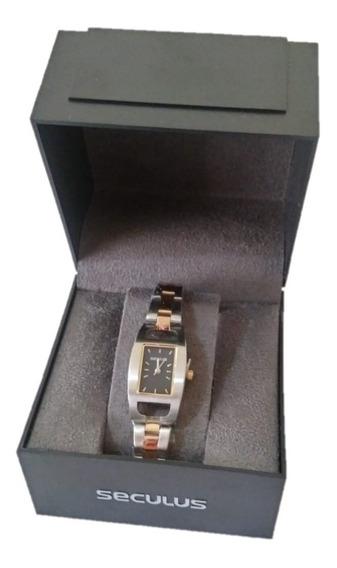 Relógio Feminino Seculus Bicolor R24223lb01