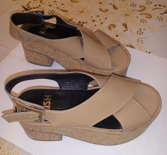 Zapatos Sandalias Mishka Beige 36