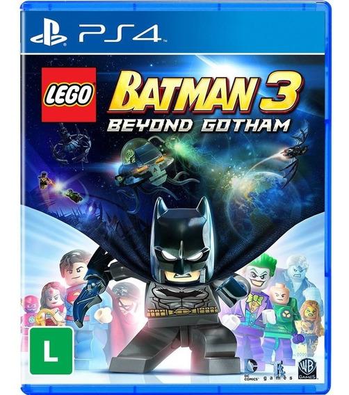 Lego Batman 3 Ps4 Mídia Física Português