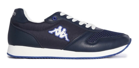 Tenis Hombre Kappa Gistof Blue Casual