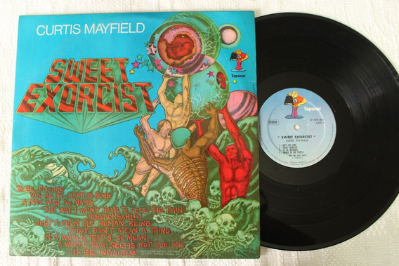 Lp Curtis Mayfield - Sweet Exorcist (1974) Vinil Nacional