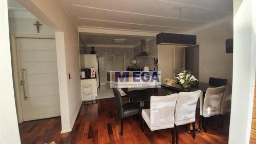 Casa Com 3 Dormitórios À Venda, 184 M² Por R$ 890.000 - Jardim Okinawa - Paulínia/sp - Ca2461
