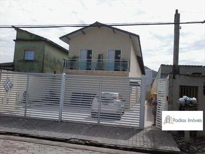 Sobrado Com 2 Dorms, Vila Atlântica, Mongaguá - R$ 200 Mil, Cod: 3907 - V3907