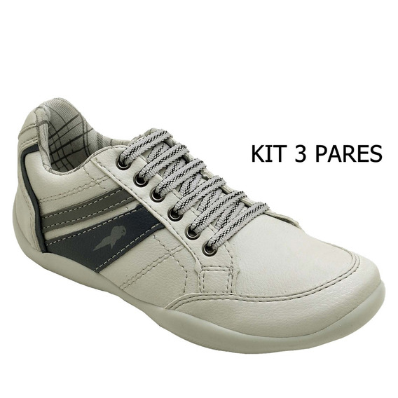 Sapatenis Infantil Barato Kit Com 3 Pares!!!