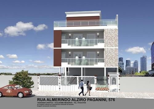 Imagem 1 de 4 de Apartamento 2 Dormitórios Com Vaga