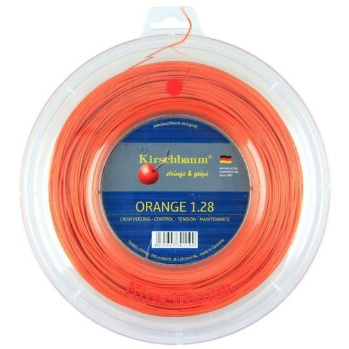 Cuerda De Tenis Kirschbaum Super Smash (orange) 1.28