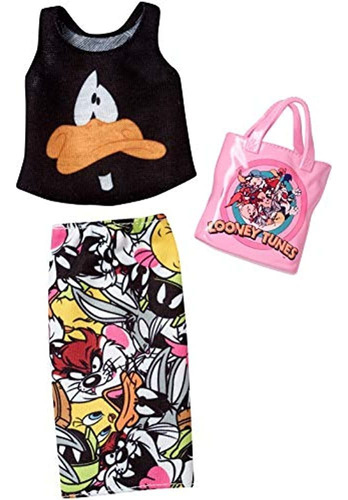 Barbie Completa Se Ve Looney Tunes Moda