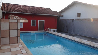 Casa Grande Com Piscina Na Praia R$ 280 Mil