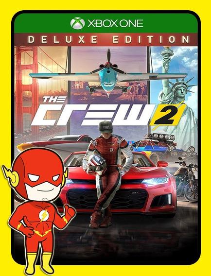 The Crew 2 Deluxe Xbox One - 25 Dígitos (envio Flash)