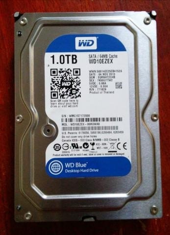 Hd Western Digital Blue 1t