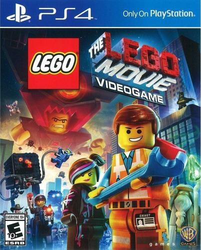 Lego The Movie Videogame Ps4 Original Fisico Sellado Blu-ray