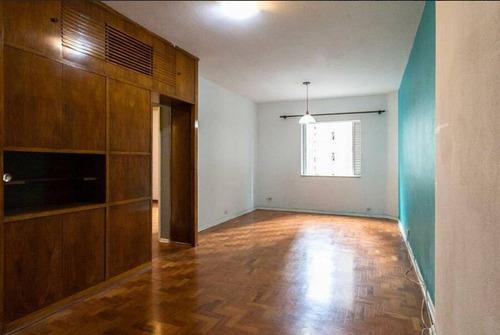 Imagem 1 de 15 de Apartamento No Jardim Paulista Com 2 Quartos À Venda, Próximo Ao Metrô - Apa21026
