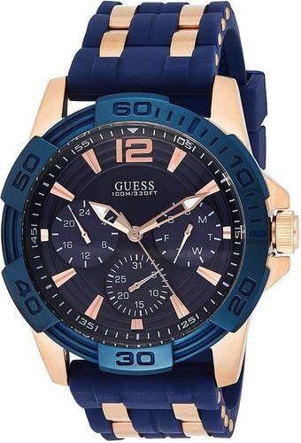 Reloj Guess Hombre W0366g4 Sporty Rose Gold-tone