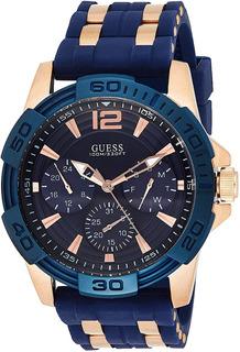 Reloj Guess Hombre W0366g4 Sporty Rose Gold-tone