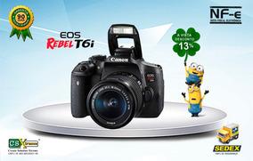Canon T6i 18-55mm Is + Nfe + Garantia