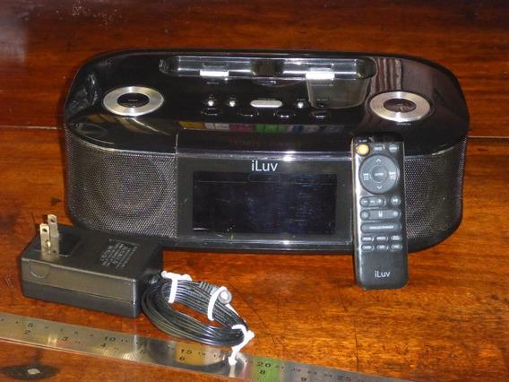 Iluv Estação iPhone/iPod Itunes Radio Alarme Carregador