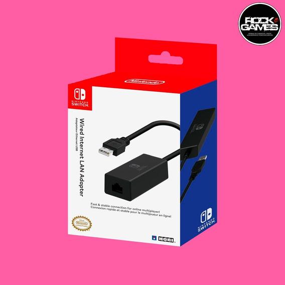 Wired Lan Adapter Adaptador De Rede Com Fio Nintendo Switch