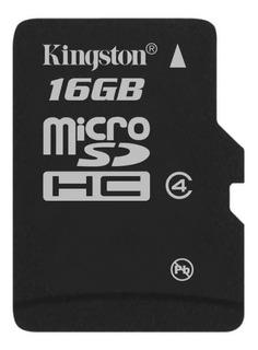 Tarjeta de memoria Kingston SDC4 con adaptador SD 16GB